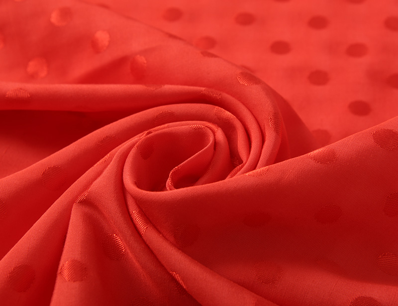 Supplier rayon viscose cotton fabric crepe viscose fabric jacquard fabric-2