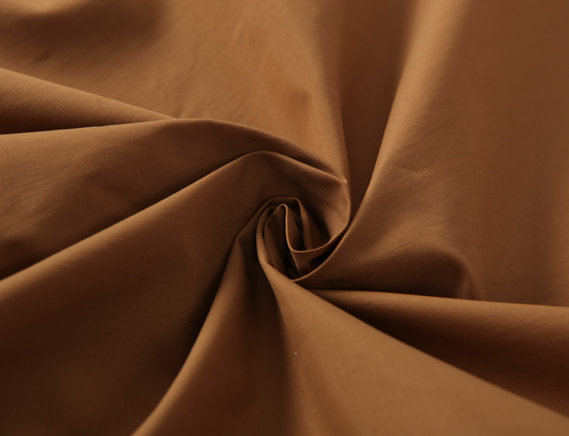 China manufacture 75%nylon 25%cotton mixed plain fabric 63gsm for thin summer dress