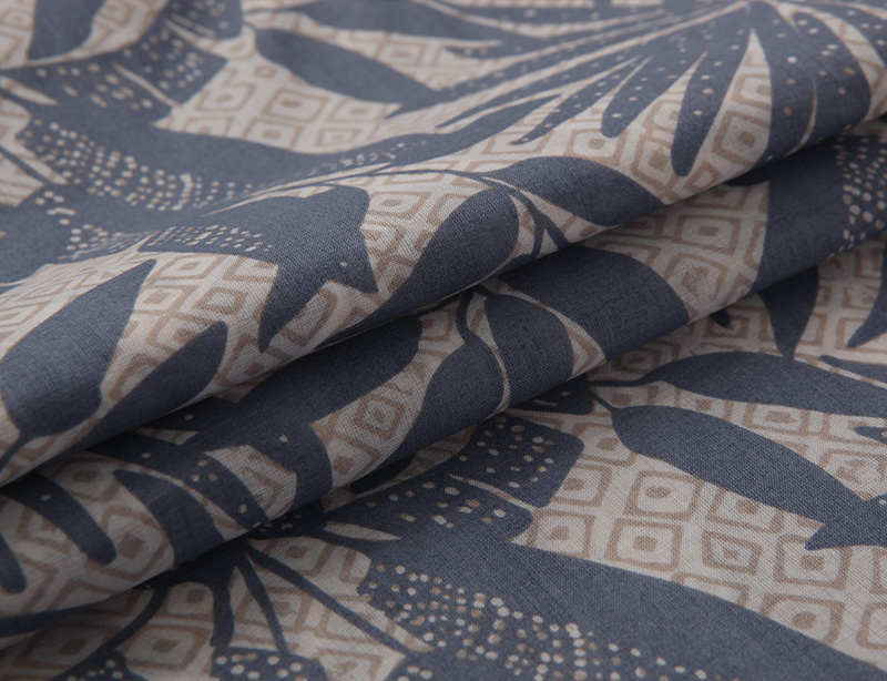 manufacture cotton rayon blended plain fabric for spring wear
