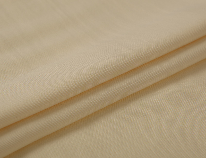 In stock Spring summer double rayon blend linen rib woven fabric for clothing